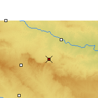 Nearby Forecast Locations - Pathardi - Carte
