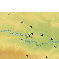 Nearby Forecast Locations - Pathri - Carte