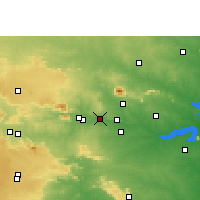 Nearby Forecast Locations - Phusro - Carte