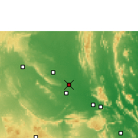Nearby Forecast Locations - Proddatur - Carte
