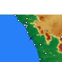 Nearby Forecast Locations - Koyilandy - Carte