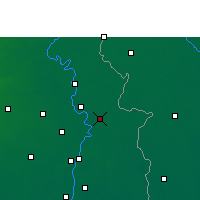 Nearby Forecast Locations - Ranaghat - Carte