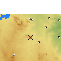 Nearby Forecast Locations - Rayadurg - Carte