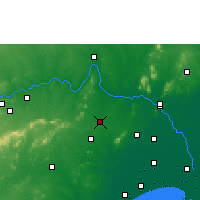 Nearby Forecast Locations - Sattenapalle - Carte