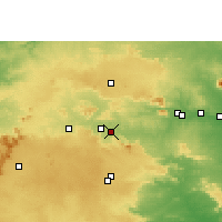 Nearby Forecast Locations - Saunda - Carte