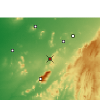 Nearby Forecast Locations - Sirohi - Carte