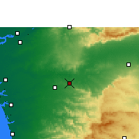 Nearby Forecast Locations - Songadh - Carte