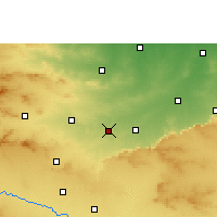 Nearby Forecast Locations - Talode - Carte