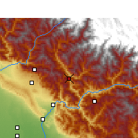 Nearby Forecast Locations - Tehri - Carte