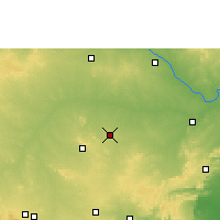 Nearby Forecast Locations - Yemmiganur - Carte