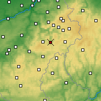 Nearby Forecast Locations - Vielsalm - Carte