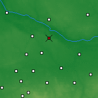 Nearby Forecast Locations - Gąbin - Carte