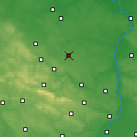 Nearby Forecast Locations - Iłża - Carte