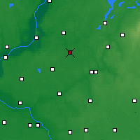 Nearby Forecast Locations - Jabłonowo Pomorskie - Carte