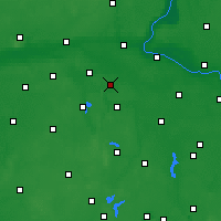Nearby Forecast Locations - Łabiszyn - Carte