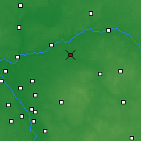 Nearby Forecast Locations - Łochów - Carte