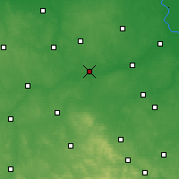 Nearby Forecast Locations - Nowe Miasto nad Pilicą - Carte