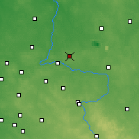 Nearby Forecast Locations - Pajęczno - Carte