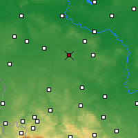 Nearby Forecast Locations - Przemków - Carte