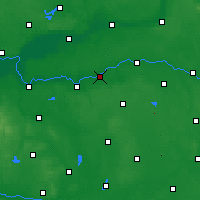 Nearby Forecast Locations - Sierakow - Carte