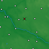 Nearby Forecast Locations - Skępe - Carte