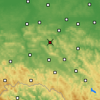 Nearby Forecast Locations - Strzyżów - Carte