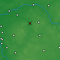Nearby Forecast Locations - Węgrów - Carte