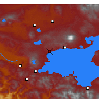 Nearby Forecast Locations - Ahlat - Carte