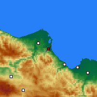 Nearby Forecast Locations - Ondokuzmayıs - Carte