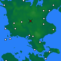 Nearby Forecast Locations - Ringsted - Carte