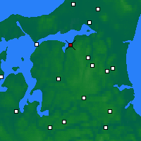 Nearby Forecast Locations - Nibe - Carte