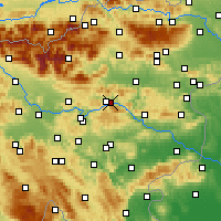 Nearby Forecast Locations - Trbovlje - Carte