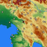 Nearby Forecast Locations - Vipava - Carte