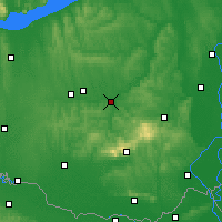 Nearby Forecast Locations - Dombóvár - Carte