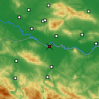 Nearby Forecast Locations - Gradiška - Carte