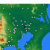 Nearby Forecast Locations - Misato - Carte