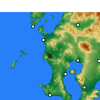 Nearby Forecast Locations - Satsumasendai - Carte