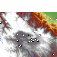 Nearby Forecast Locations - Sacaba - Carte