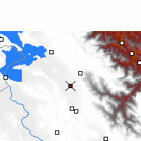 Nearby Forecast Locations - Viacha - Carte
