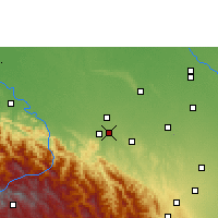 Nearby Forecast Locations - Santa Fe de Yapacaní - Carte