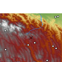 Nearby Forecast Locations - Comarapa - Carte