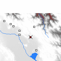 Nearby Forecast Locations - Caracollo - Carte