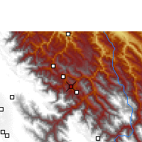 Nearby Forecast Locations - Chulumani - Carte