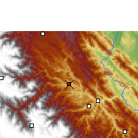 Nearby Forecast Locations - Mapiri - Carte