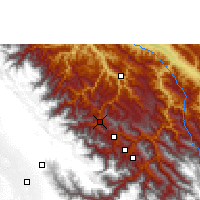 Nearby Forecast Locations - Coroico - Carte