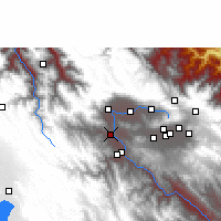 Nearby Forecast Locations - Parotani - Carte