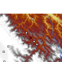 Nearby Forecast Locations - Coripata - Carte