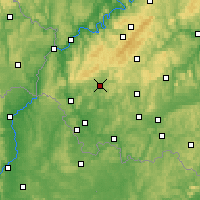 Nearby Forecast Locations - Wadern - Carte