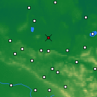 Nearby Forecast Locations - Rahden - Carte