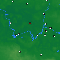 Nearby Forecast Locations - Nauen - Carte